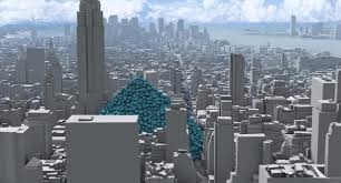 Home Design Show New York Carbon Quilt Video Shows New York Swallowed Up By Giant Greenhouse