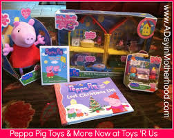 peppa pig toys books u0026 dvd u0027s now at toys u0027r us review