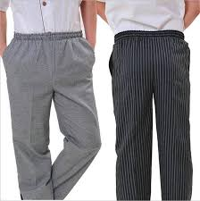 new arrival chef uniform restaurant pants kitchen trouser chef