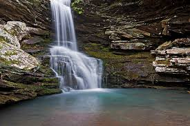 Arkansas waterfalls images Magnolia falls ozark national forest near mossville arkansas jpg