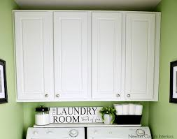 deep laundry room cabinets organizing a small laundry room newton custom interiors