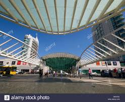 Vasco Da Gama Flag Shopping Centre In Lisbon Portugal Stock Photos U0026 Shopping Centre