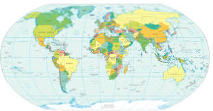 Mercator World Map by Deepelement Software Services