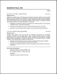 lpn nursing resume exles icu rn resume sles resume cover letter