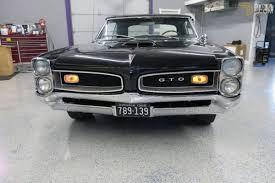 pontiac gto cabriolet roadster 1966 black for sale dyler