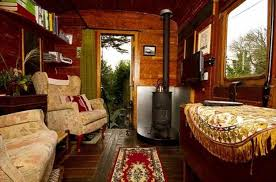 interior design country homes recycling baggage cars for small country homes
