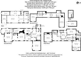 Hardwick Hall Floor Plan by 8 Bedroom Detached House For Sale In Great Ellingham Norfolk