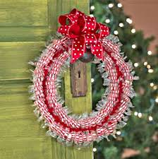 how to make wreaths 7 easy steps to make candy wreaths for christmas