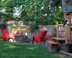 friends around the campfire u2013 home is what you make it