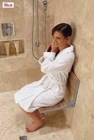 Fold Down Shower Bench Shower Seat Wall Mount Folding Bath Bench Fold Chair Bathroom