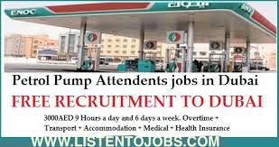 petrol pump attendants jobs in dubai 3000 5000 aed overtime