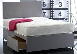 Single Divan Bed With Drawers And Mattress by Divan Bed With Mattress And Headboard