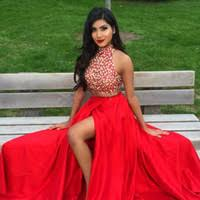 cheap pretty prom dresses two piece free shipping pretty prom