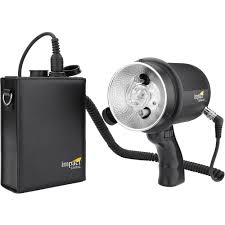 strobe light battery pack iron