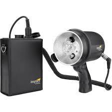 strobe light battery pack iron