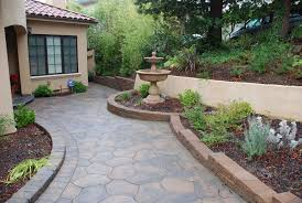 Steep Sloped Backyard Ideas by Backyard Retaining Walls Ideas 892 Best Retainer Wall Boulders