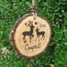 shop wood deer ornaments on wanelo