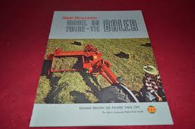 new holland 66 hay baler dealer u0027s brochure bwpa u2022 16 19 picclick