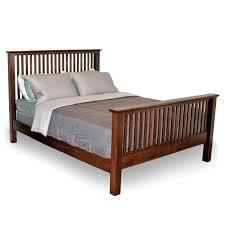 All Wood Bed Frame Spindle Beds Solid Wood Bed Frames Robinson Clark