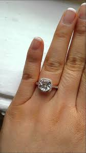 white topaz engagement ring rosados box princess size barra white topaz gold engagement