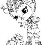 monster high howleen coloring pages colotring pages