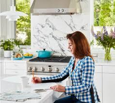 monogram teams with richardson to create new kitchen design home