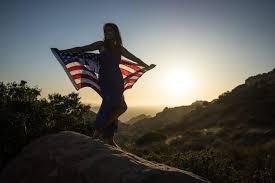 American Flag Sunset Portraits Of America Inspiring American Women In Breathtaking