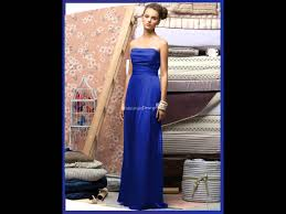 royal blue bridesmaid dresses youtube
