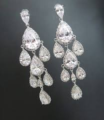 vintage wedding earrings chandeliers wedding earrings chandelier bridal vintage pertaining to