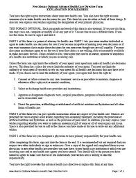advance directive form wisconsin advance directive form 91 best