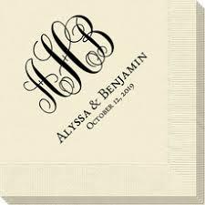 wedding napkins wedding napkins personalized wedding napkins the stationery studio