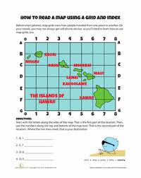 map grid worksheet education com