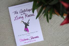 sparkly green earrings weekend read the antelope in the living room