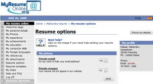 Resume Online by Top 5 Free Resume Hosting Websites