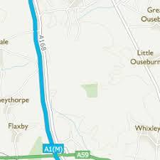 map uk harrogate walshford harrogate area information map walks and more