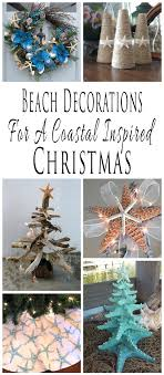 themed christmas handmade themed christmas decorations for a coastal inspired