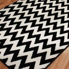 Black Grey And White Area Rugs black and white chevron rug 8 10 roselawnlutheran
