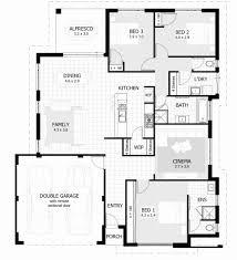 three bedroom ground floor plan beautiful basic three bedroom house plan house plan