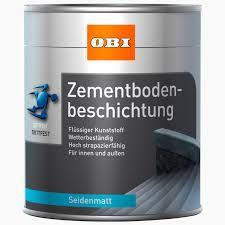 treppe obi obi zementbodenbeschichtung silbergrau seidenmatt 750 ml kaufen