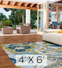 4 X 6 Outdoor Rug Shop For Outdoor Rugs By Size Dfohome