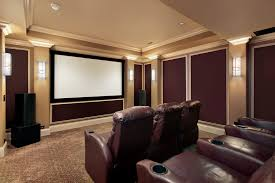 Individual Chairs For Living Room Design Ideas Brown And Beige Color Scheme Home Theater Room With Individual