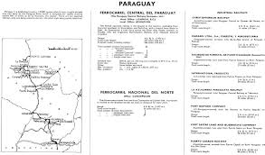 Asuncion Paraguay Map Paraguay Rail Map Not Lost In Translation