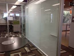 floor to ceiling clear dry erase boards
