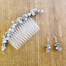 how to make bridal hair accessories free jewelry tutorials for