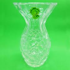 Waterford Vase Patterns Genuine Waterford Small Pineapple Crystal Vase 5 Signed Shop