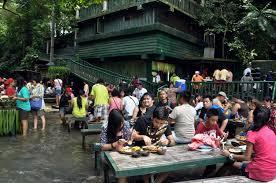waterfall restaurant villa escudero plantation u0026 resort san