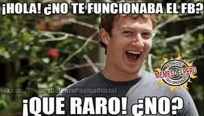 Facebook Memes - facebook graciosos memes se burlan de su caída a nivel mundial fb