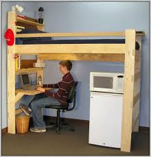 Bunk Bed Futon Desk Bedding Mesmerizing Bunk Bed With Desk Underneath Beds
