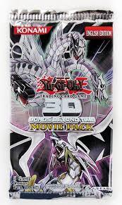konami yu gi oh 3d bonds beyond time movie booster pack da card