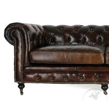 canap ancien cuir canape chesterfield ancien canapac cuir marron vintage chesterfield